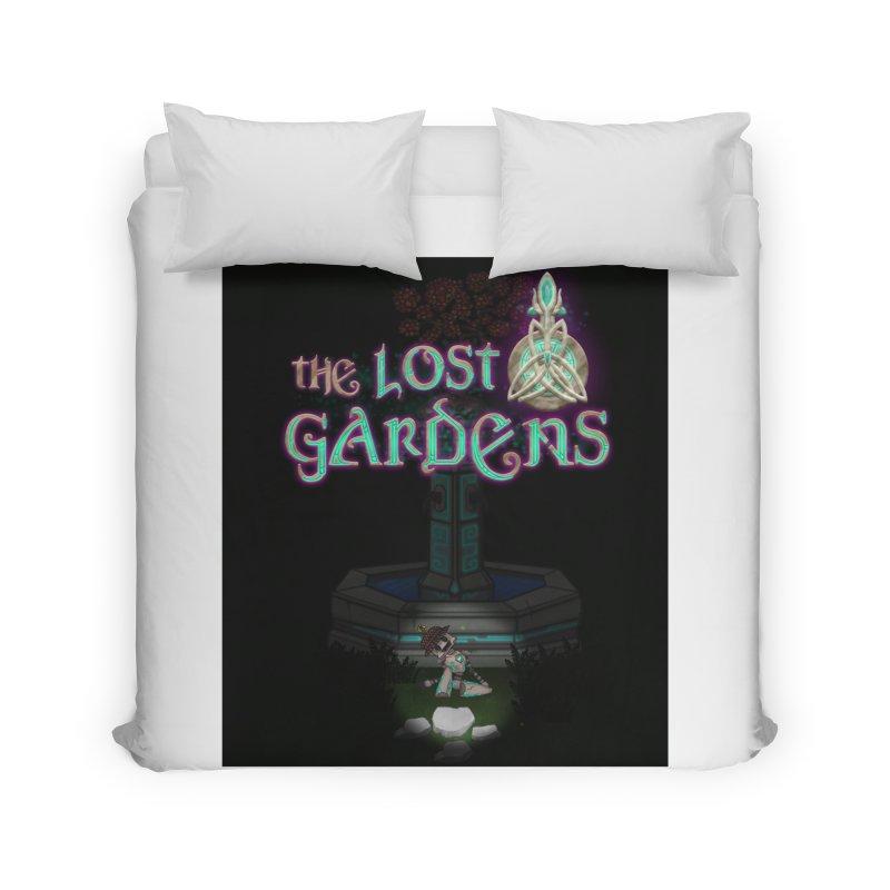 Awaken Him Home Duvet by The Lost Gardens Official Merch