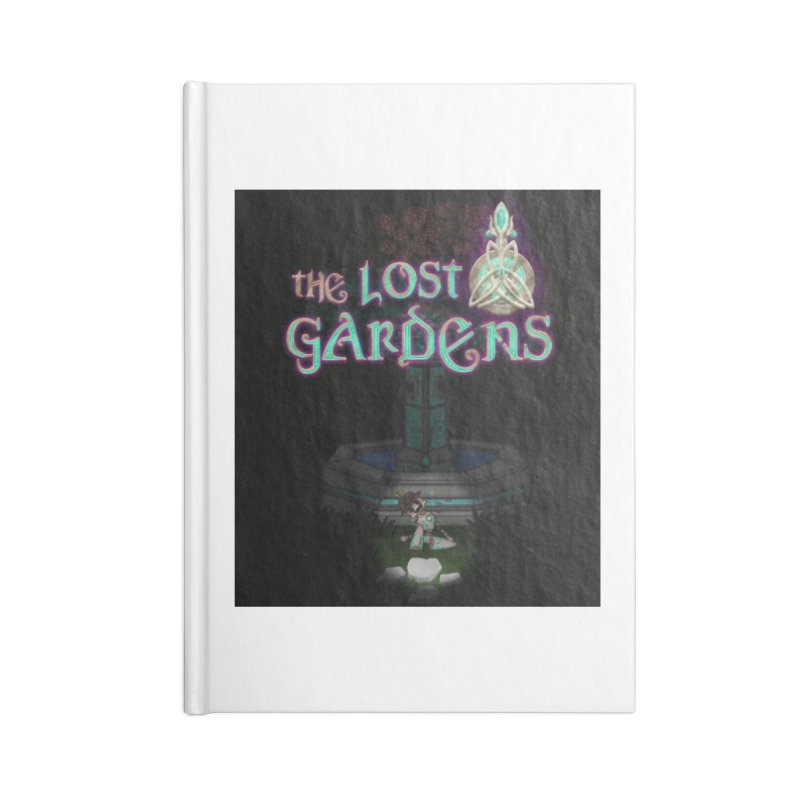 Awaken Him Accessories Lined Journal Notebook by The Lost Gardens Official Merch