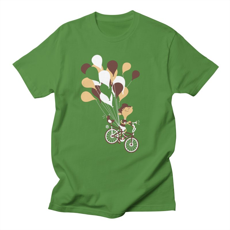 Get Out There Men's T-shirt by theloulander's Artist Shop
