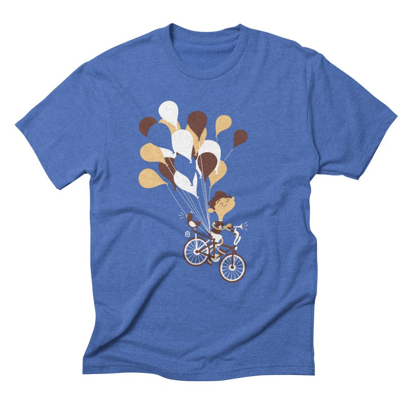 Get Out There Men's Triblend T-shirt by theloulander's Artist Shop