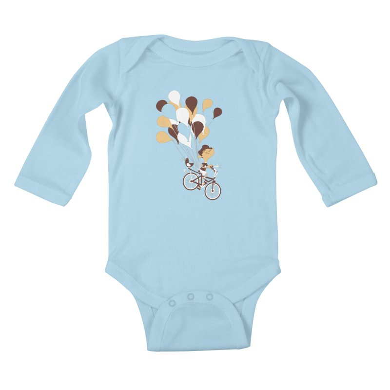 Get Out There Kids Baby Longsleeve Bodysuit by theloulander's Artist Shop