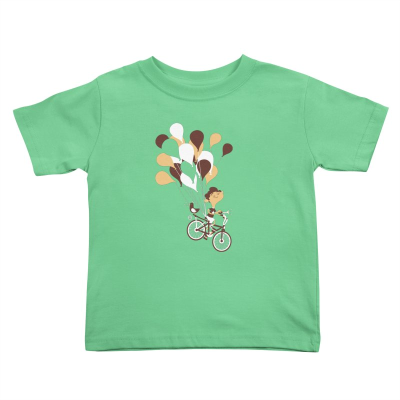 Get Out There Kids Toddler T-Shirt by theloulander's Artist Shop