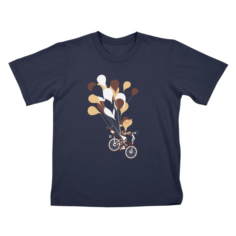 Get Out There Kids T-Shirt by theloulander's Artist Shop