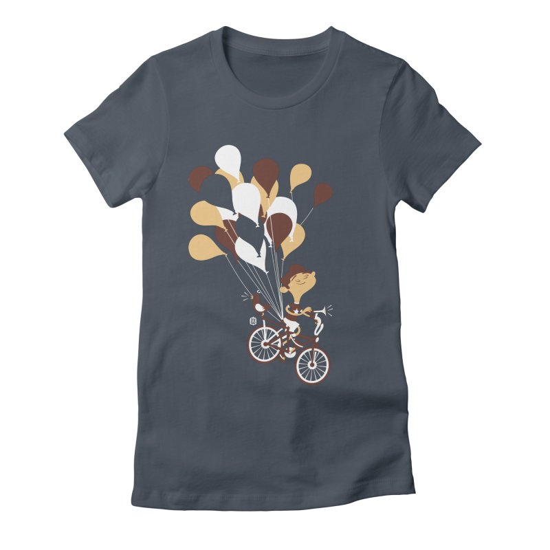 Get Out There Women's Fitted T-Shirt by theloulander's Artist Shop