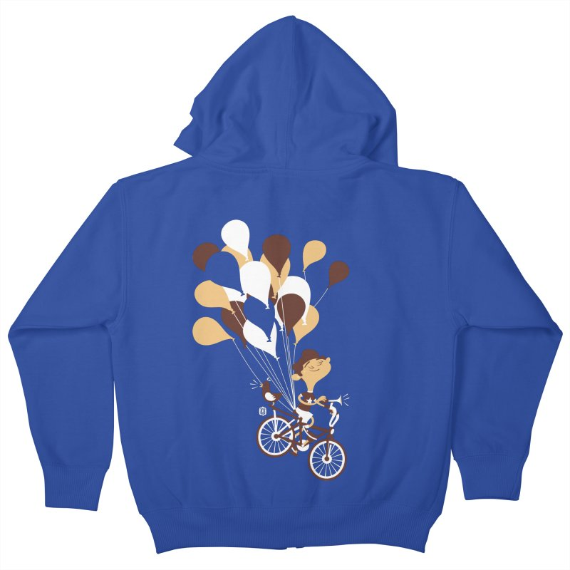 Get Out There Kids Zip-Up Hoody by theloulander's Artist Shop