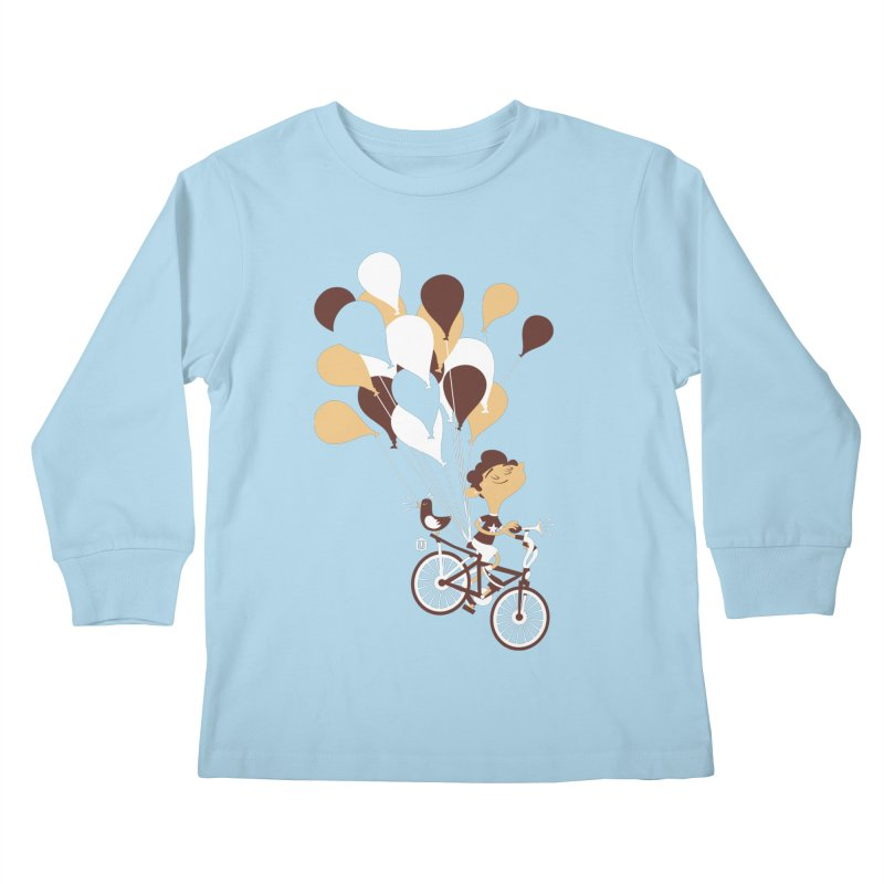 Get Out There Kids Longsleeve T-Shirt by theloulander's Artist Shop