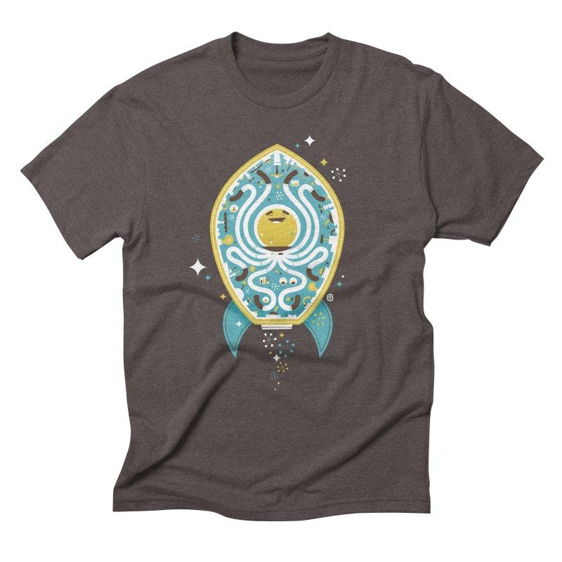 The Octonaut Men's Triblend T-Shirt by theloulander's Artist Shop