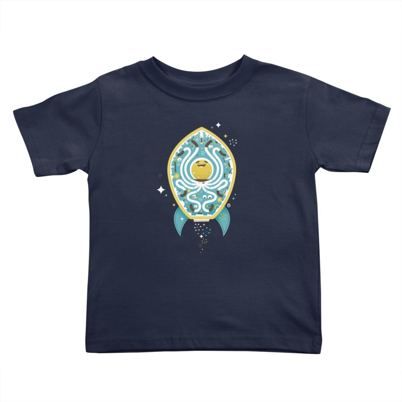 The Octonaut Kids Toddler T-Shirt by theloulander's Artist Shop