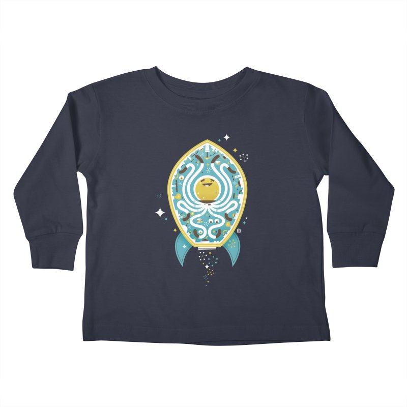 The Octonaut Kids Toddler Longsleeve T-Shirt by theloulander's Artist Shop