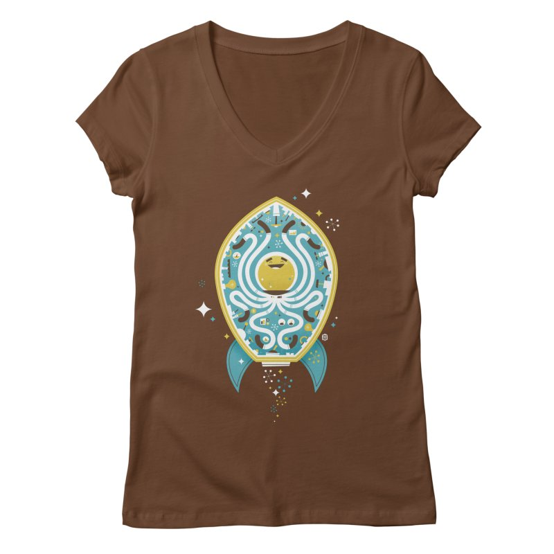 The Octonaut Women's V-Neck by theloulander's Artist Shop