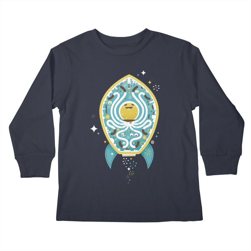 The Octonaut Kids Longsleeve T-Shirt by theloulander's Artist Shop