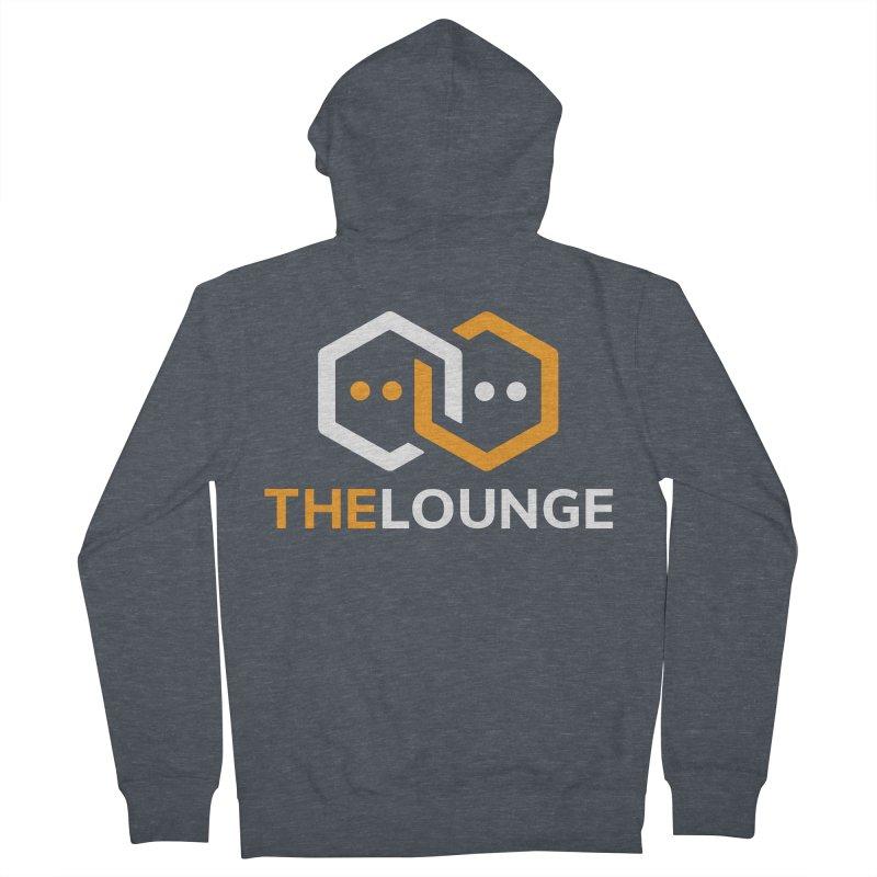 Logo (dark) Men's Zip-Up Hoody by The Lounge