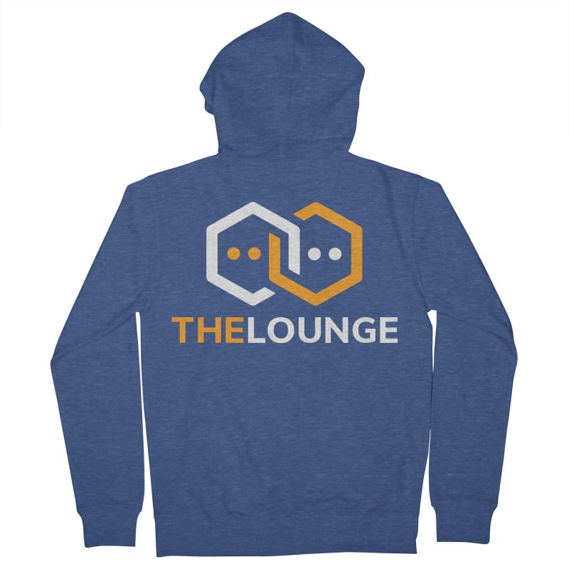 Logo (dark) Men's Zip-Up Hoody by The Lounge