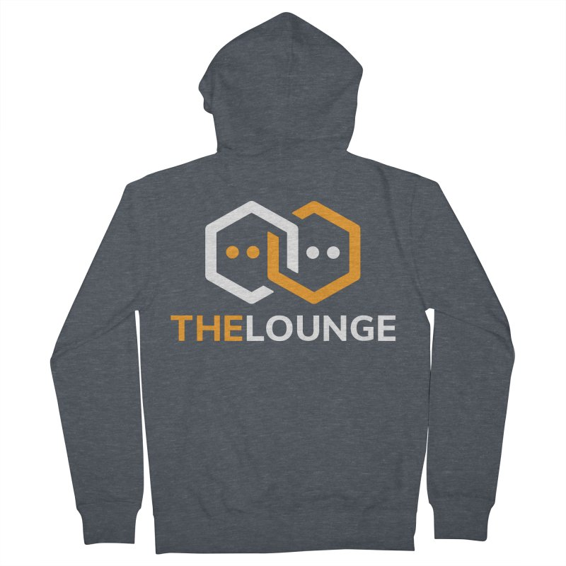 Logo (dark) Women's French Terry Zip-Up Hoody by The Lounge