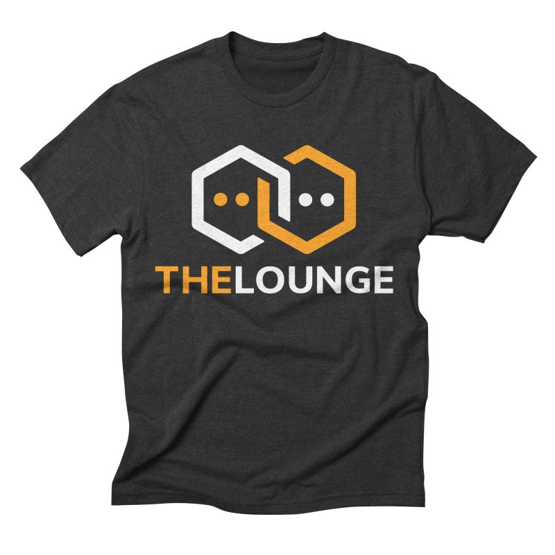 Logo (dark) Men's Triblend T-Shirt by The Lounge