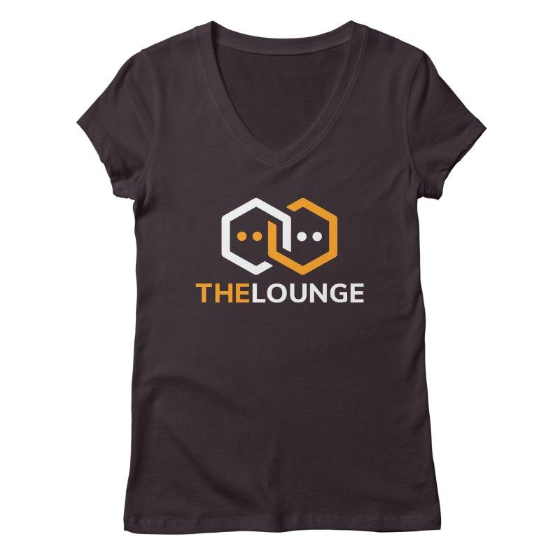 Logo (dark) Women's Regular V-Neck by The Lounge