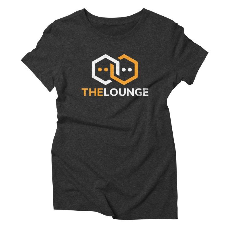 Logo (dark) Women's Triblend T-Shirt by The Lounge