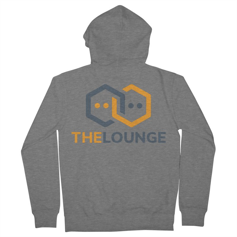 Logo (bright) Men's Zip-Up Hoody by The Lounge