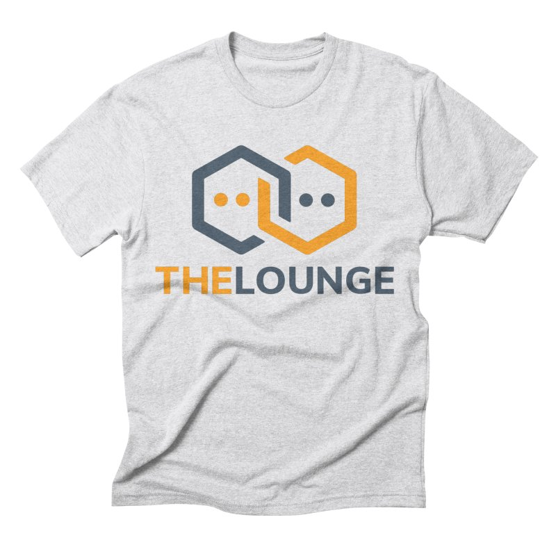Logo (bright) Men's Triblend T-Shirt by The Lounge