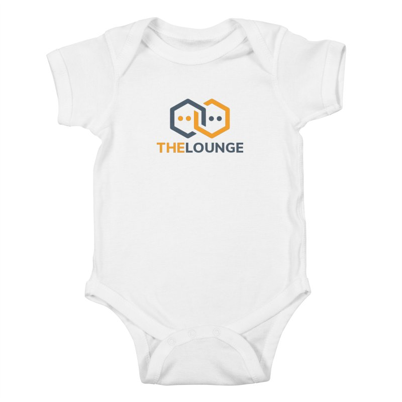 Logo (bright) Kids Baby Bodysuit by The Lounge