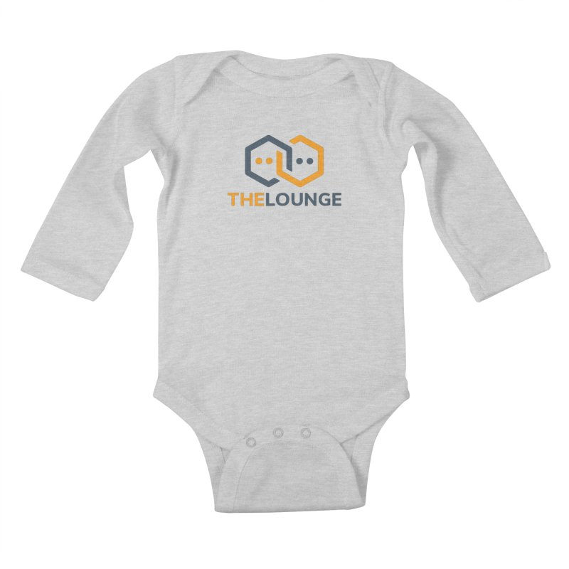 Logo (bright) Kids Baby Longsleeve Bodysuit by The Lounge