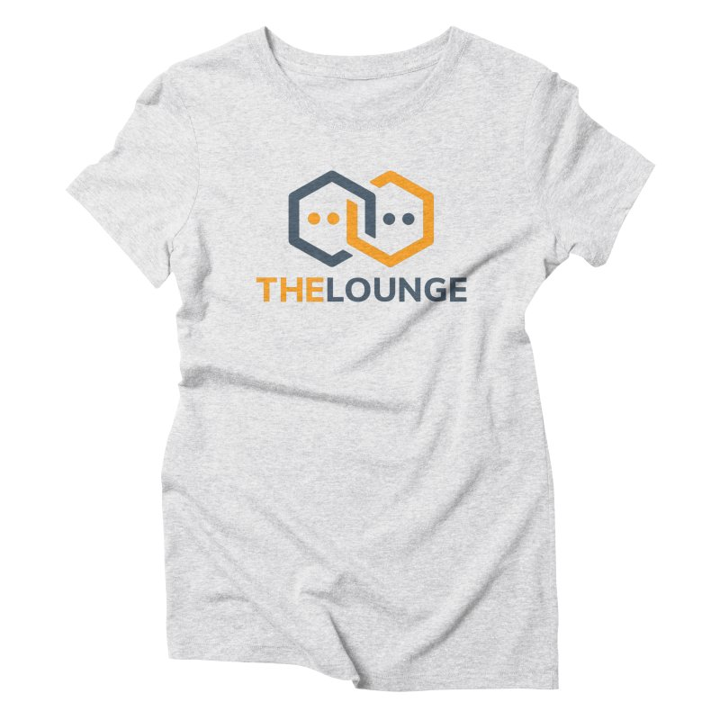 Logo (bright) Women's Triblend T-Shirt by The Lounge