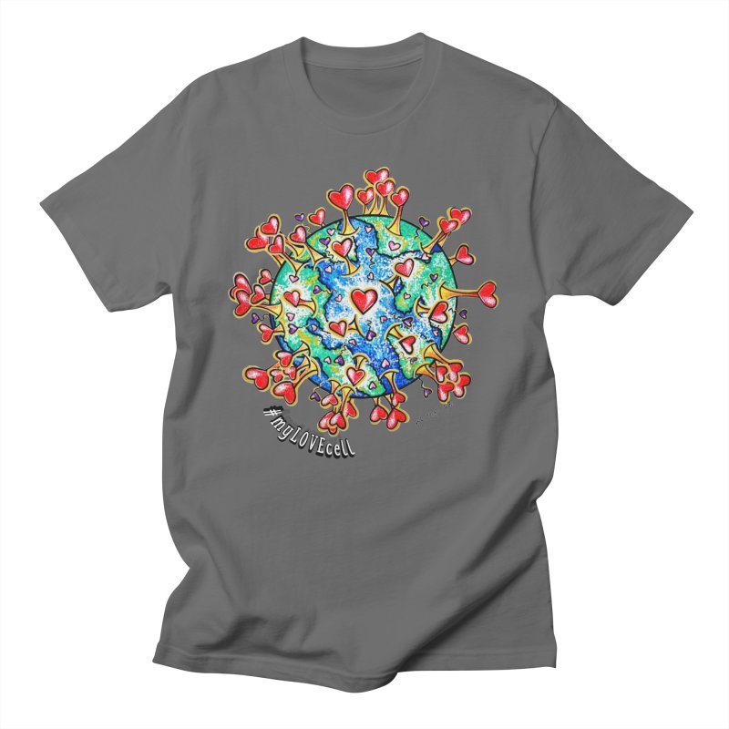BRITONI B's {LOVE}CELL Men's T-Shirt by the{LOVE}cell