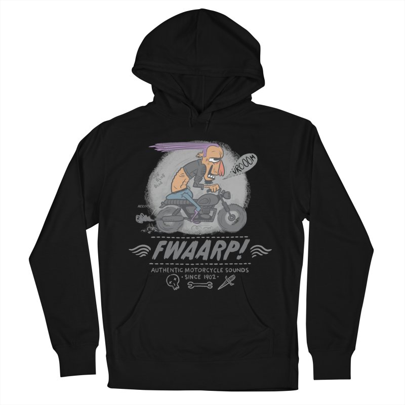 FWAARP!! Women's French Terry Pullover Hoody by The Lurid Tusk
