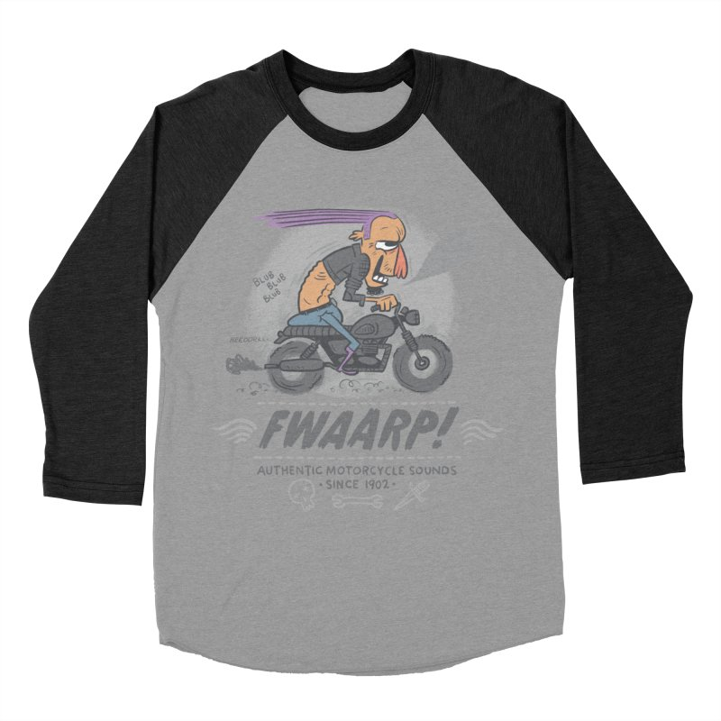 FWAARP!! Women's Baseball Triblend T-Shirt by The Lurid Tusk