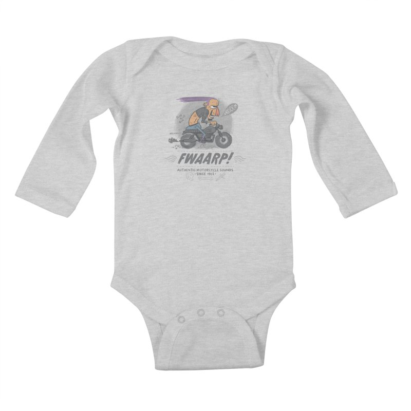 FWAARP!! Kids Baby Longsleeve Bodysuit by The Lurid Tusk
