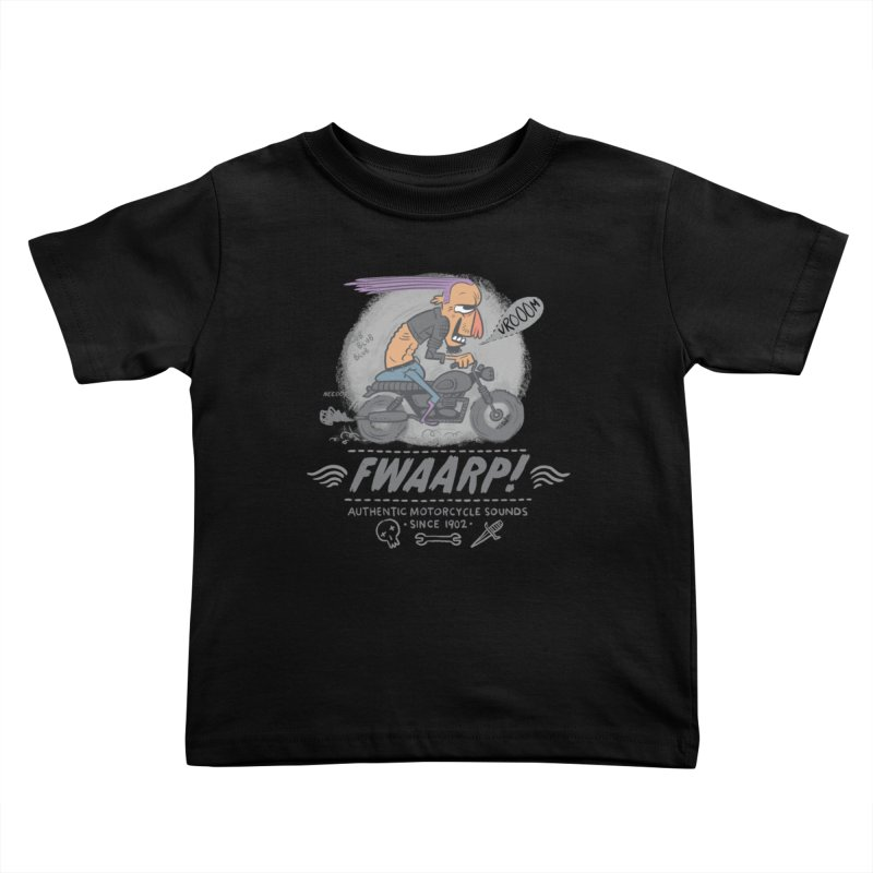 FWAARP!! Kids Toddler T-Shirt by The Lurid Tusk