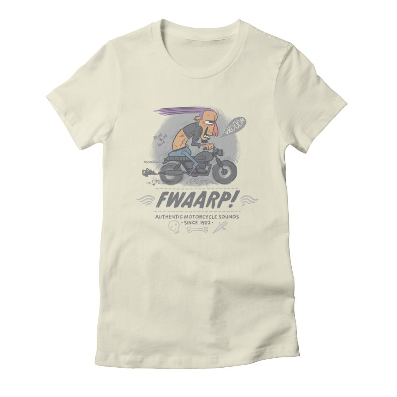 FWAARP!! Women's Fitted T-Shirt by The Lurid Tusk