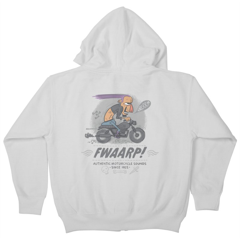 FWAARP!! Kids Zip-Up Hoody by The Lurid Tusk