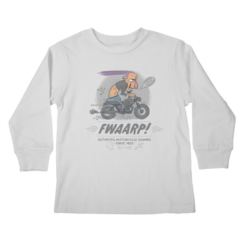 FWAARP!! Kids Longsleeve T-Shirt by The Lurid Tusk
