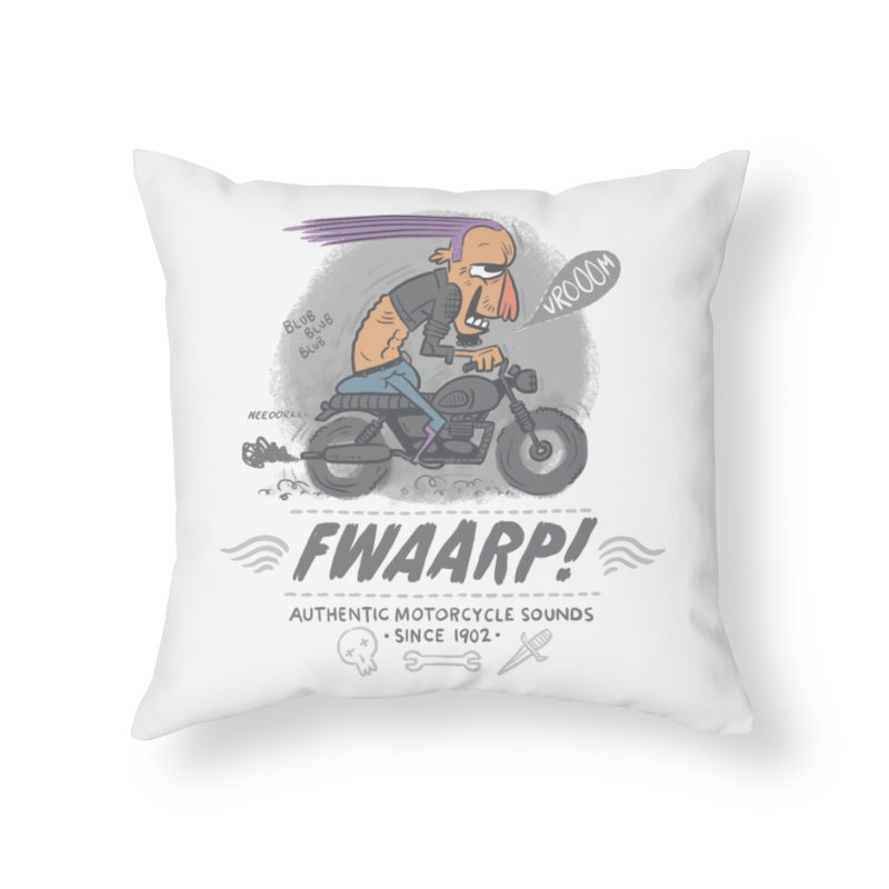 FWAARP!! Home Throw Pillow by The Lurid Tusk
