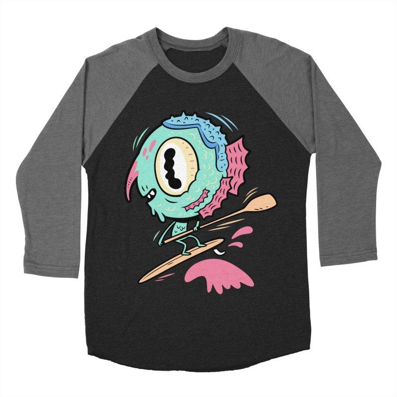 Gillmans unfettered joy! Men's Baseball Triblend Longsleeve T-Shirt by The Lurid Tusk