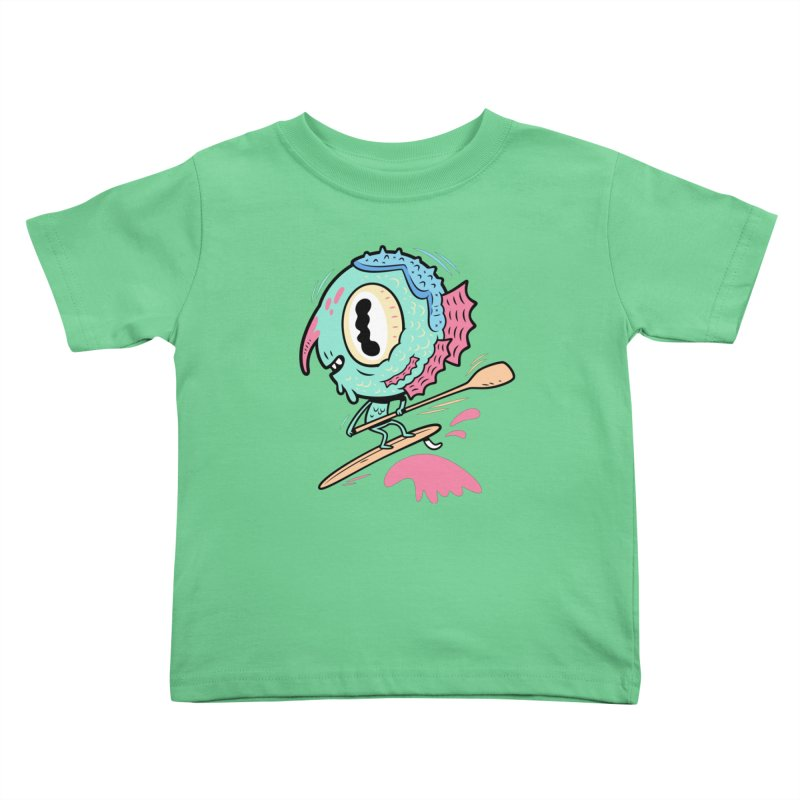 Gillmans unfettered joy! Kids Toddler T-Shirt by The Lurid Tusk