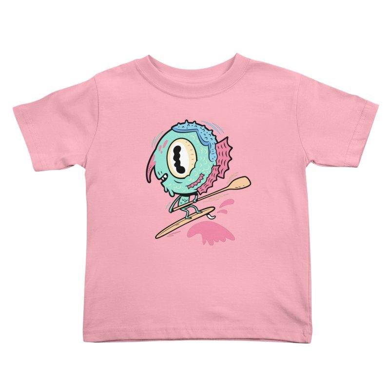 Gillmans unfettered joy! Kids Toddler T-Shirt by The Lurid Tusk
