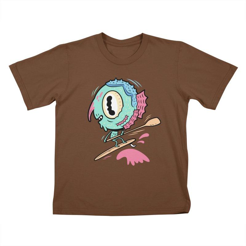 Gillmans unfettered joy! Kids T-Shirt by The Lurid Tusk