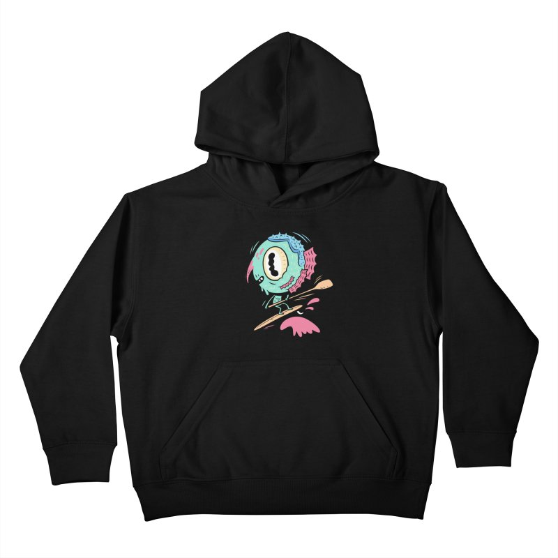 Gillmans unfettered joy! Kids Pullover Hoody by The Lurid Tusk