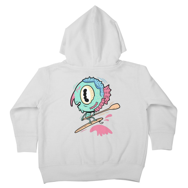 Gillmans unfettered joy! Kids Toddler Zip-Up Hoody by The Lurid Tusk