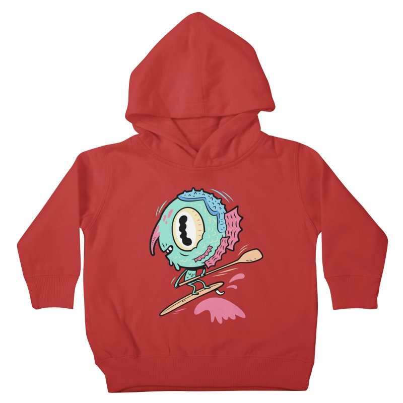 Gillmans unfettered joy! Kids Toddler Pullover Hoody by The Lurid Tusk