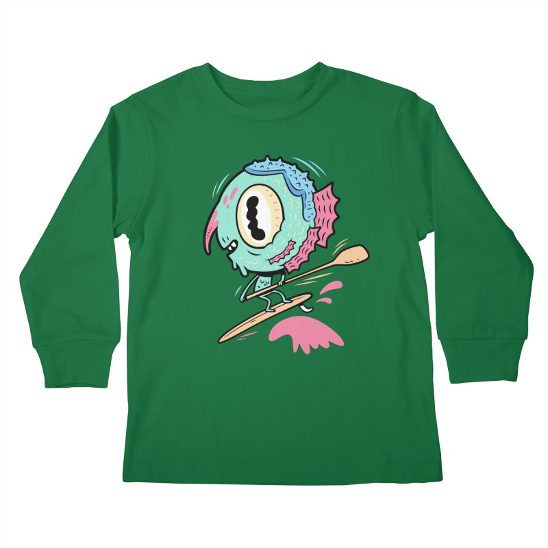 Gillmans unfettered joy! Kids Longsleeve T-Shirt by The Lurid Tusk