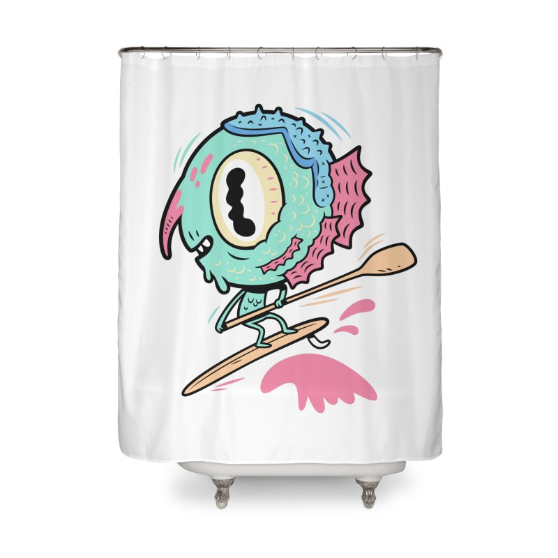 Gillmans unfettered joy! Home Shower Curtain by The Lurid Tusk