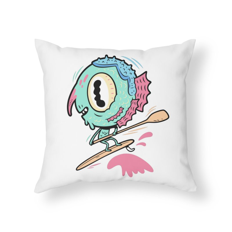 Gillmans unfettered joy! Home Throw Pillow by The Lurid Tusk