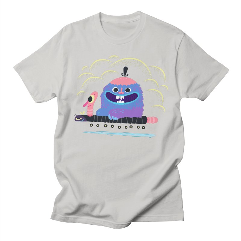 Worm Chauffeur Men's T-Shirt by The Lurid Tusk