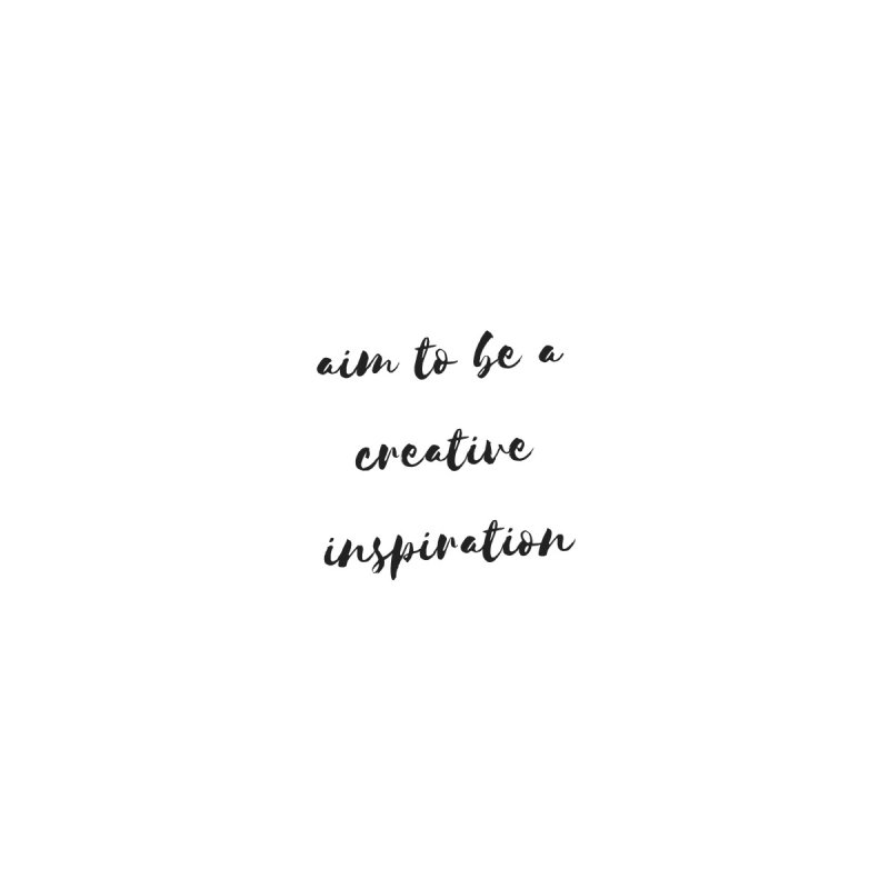 Creative Inspiration   by thelyndsimae's Artist Shop