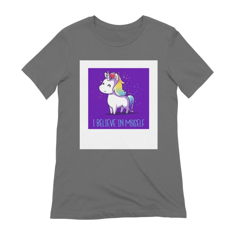 I Believe In Myself Women's Extra Soft T-Shirt by thelyndsimae's Artist Shop
