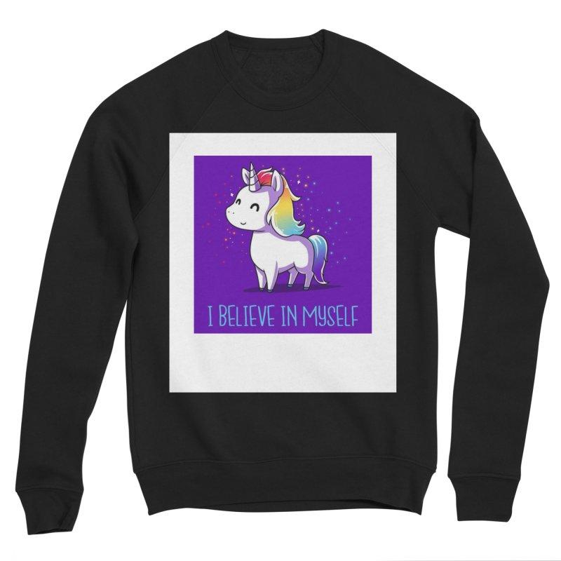 I Believe In Myself Women's Sponge Fleece Sweatshirt by thelyndsimae's Artist Shop