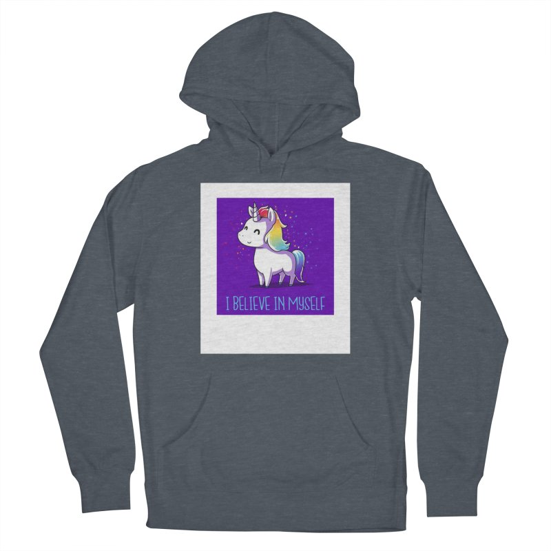 I Believe In Myself Women's Pullover Hoody by thelyndsimae's Artist Shop